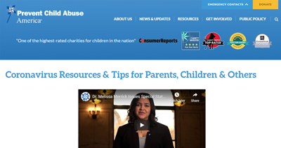 prevent child abuse screenshot